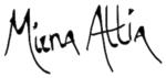 Mirna Attia Logo